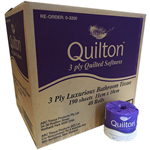 QUILTON TOILET PAPER 3 PLY 190 SHEET ROLL CARTON 48