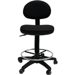 WERK RX2 DRAFTING STOOL PU BLACK