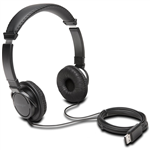 KENSINGTON HIFI USB HEADPHONES BLACK