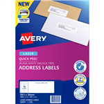 AVERY 959003 L7162 QUICK PEEL ADDRESS LABEL WITH SURE FEED LASER 16UP WHITE PACK 100