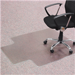ANCHORMAT EXECUTIVE HEAVYWEIGHT CHAIRMAT KEYHOLE CARPET 1150 X 1350MM