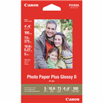 CANON PP301 GLOSSY PHOTO PAPER 265GSM 4 X 6 INCH WHITE PACK 100