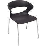 RAPIDLINE TAURUS VISITORS CHAIR BLACK