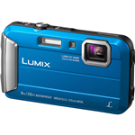 PANASONIC DMCFT30 LUMIX DIGITAL TOUGH CAMERA BLUE