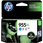 HP L0S63AA 955XL INK CARTRIDGE HIGH YIELD CYAN