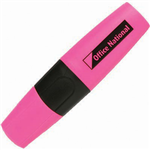 OFFICE NATIONAL BUSINESS HIGHLIGHTER CHISEL PINK