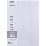 QUILL METALLIQUE PAPER 120GSM A4 QUARTZ PACK 25