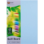 QUILL XL MULTIBOARD 210GSM A4 POWDER BLUE PACK 50