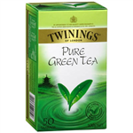TWININGS TEA BAGS PURE GREEN PACK 50