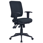 INITIATIVE REJUVENATE ERGONOMIC HIGH BACK CHAIR ARMS BLACK